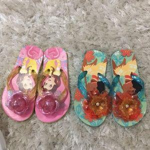 Other - Set of 2 Princess Flip Flops